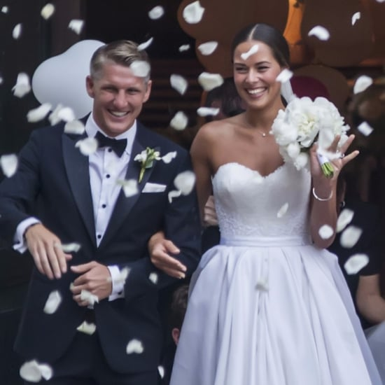 Ana Ivanovic's Wedding Dress