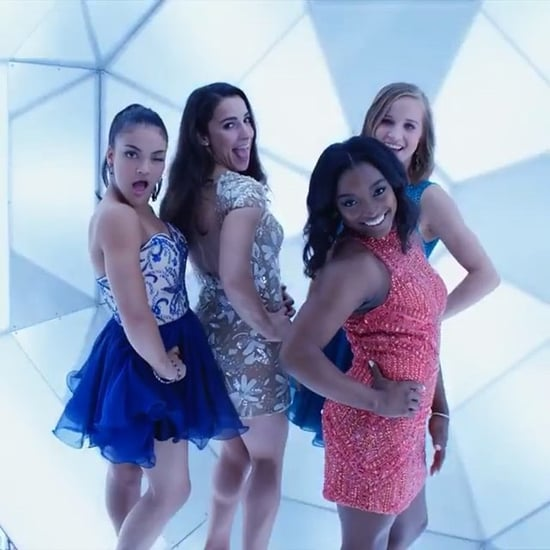 Laurie Hernandez Dancing With the Final Five at the VMAs