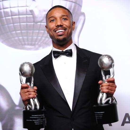 Michael B. Jordan at the NAACP Image Awards 2016