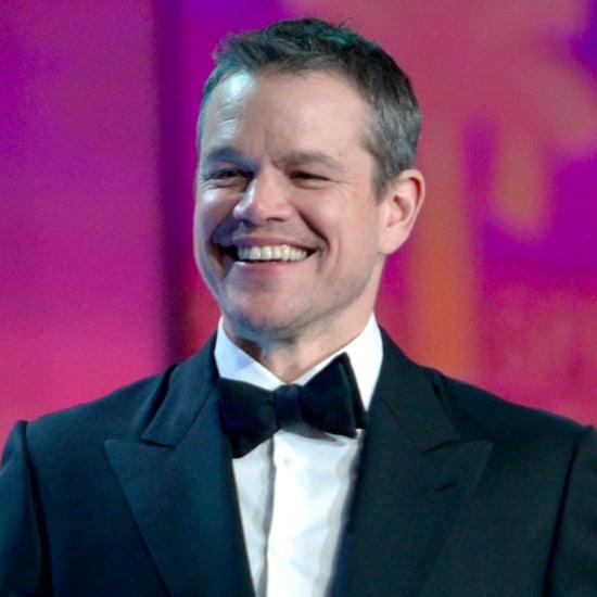 Matt Damon Palm Springs Film Festival Speech (Video)