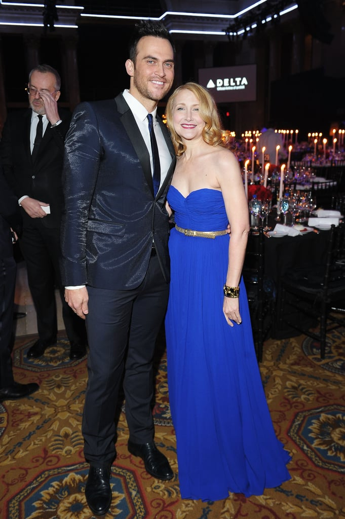 Cheyenne Jackson and Patricia Clarkson