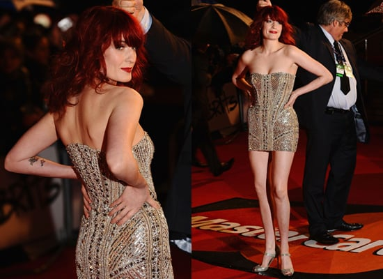 Photos of Florence Welch at the 2010 Brit Awards
