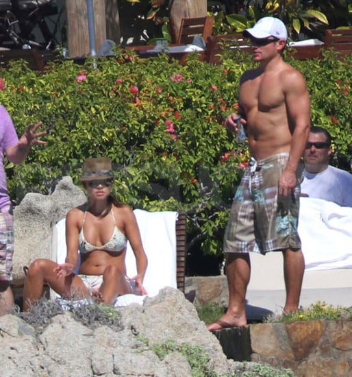 Vanessa Minnillo Bikini Pictures With Shirtless Nick Lachey in Mexico