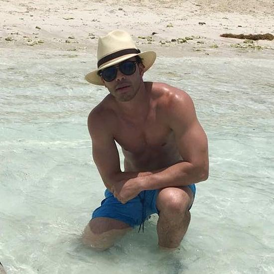 Prince Royce's Beach Vacation Instagram Photos June 2016