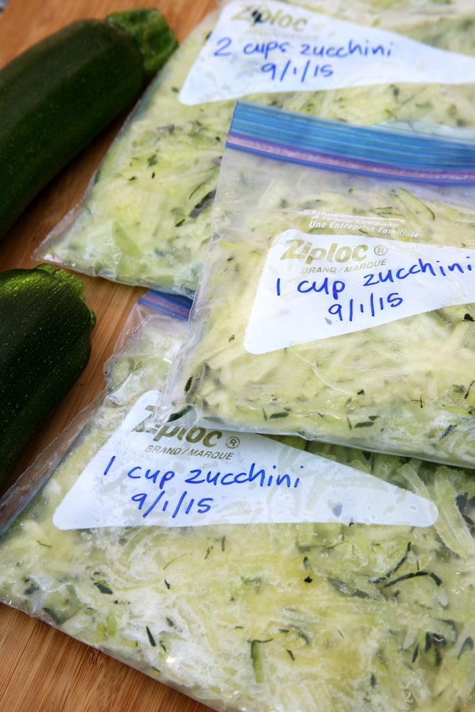 Preserve Summer's Zucchini Bounty For Months to Come