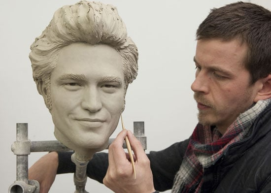 Photos of Robert Pattinson Wax Work at Madame Tussauds London Wax Figure Pictures