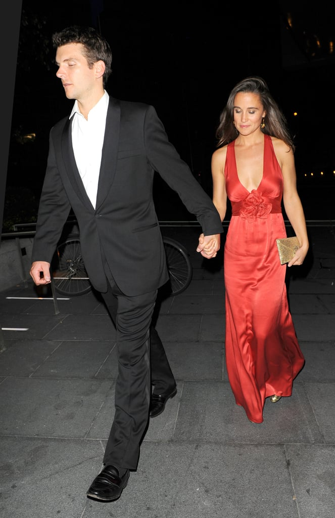 Pippa Middleton and Alex Loudon together in London.