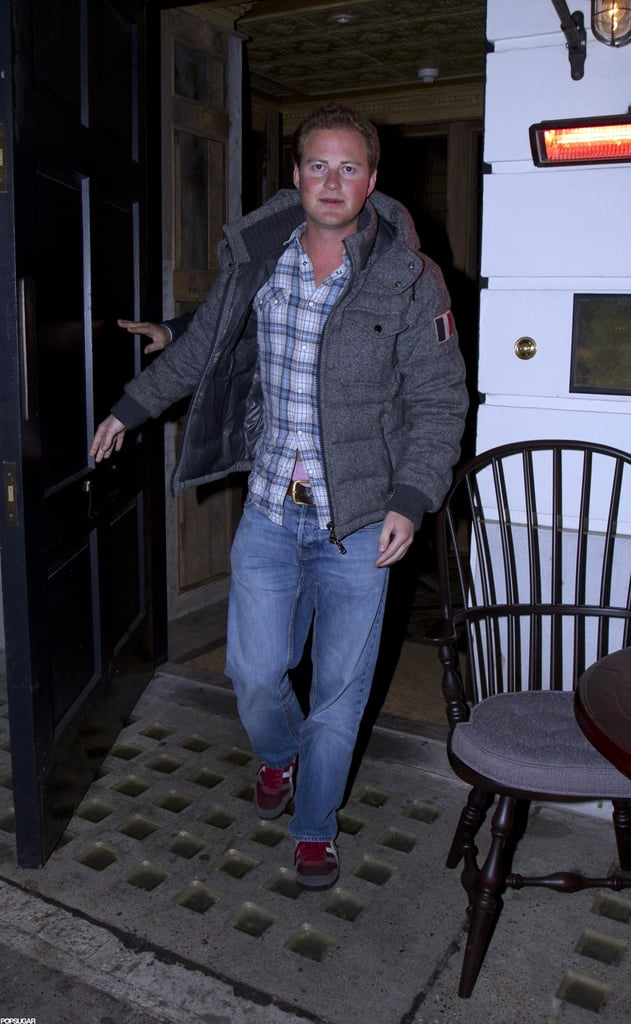 Prince William's best friend Guy Pelly was also at the London night club.