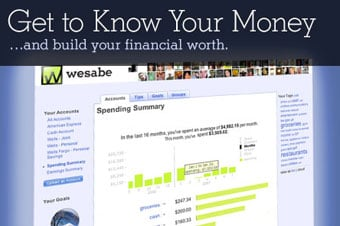 Wesabe Free Online Money Management Tool