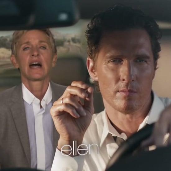 Viral Video Ellen DeGeneres Matthew McConaughey Car Ad