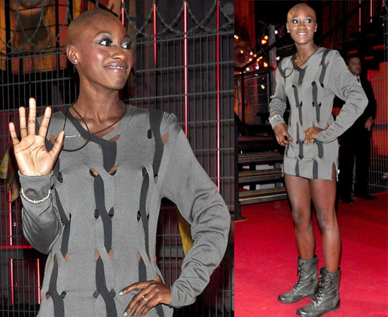 Pictures of Ife Kuku Leaving the Big Brother 11 House