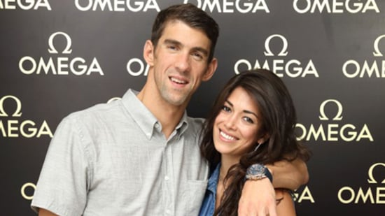 STAR SIGHTINGS: Michael Phelps and Fiancee Show PDA at Swimming Legends Event, Kate Moss Gets 'Naked' for New Fashion Campaign &