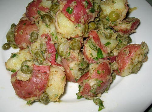 Healthy Recipe: Potato Salad With Cornichons and Capers