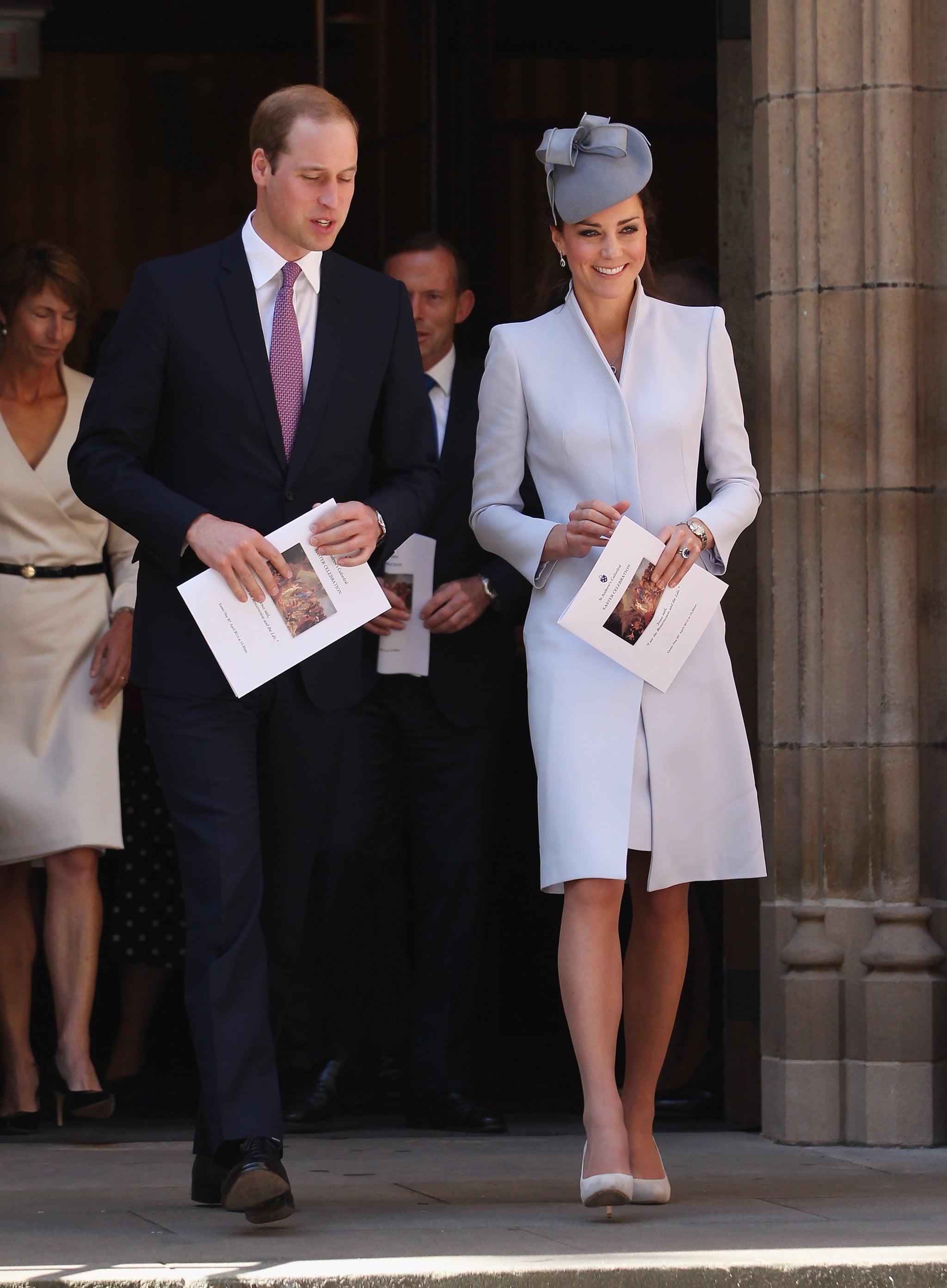 Kate Middleton Celebrating Easter in Australia in 2014