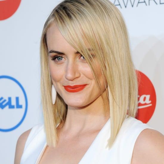 Celebrities Wearing Orange Lipstick
