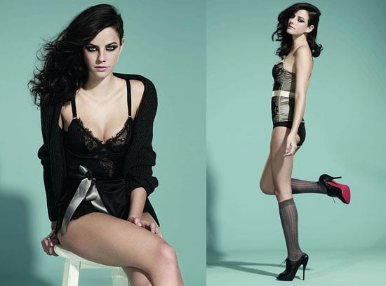 PIctures of Skins Star Kaya Scodelario In Her Underwear in InStyle Magazine July 2010