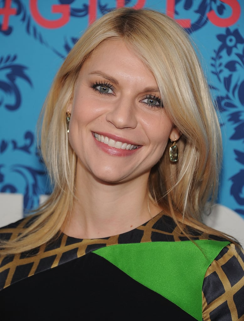 Claire Danes posed at the premiere of HBO's Girls in NYC.