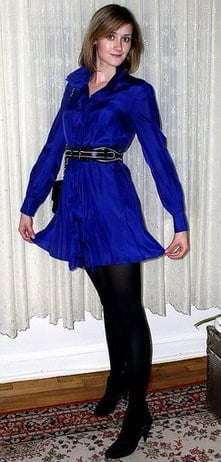 Look of the Day: Striking Blue