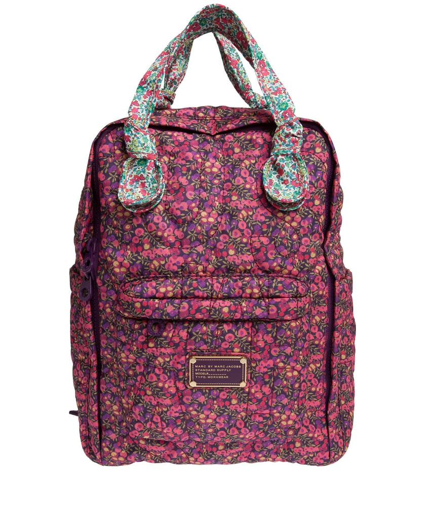 Liberty of London collaborations have been popping up all over, but this is my favorite yet. The sweet floral print reminds me of dresses from my youth, and the puffed, Marc by Marc Jacobs backpack ($241) makes me feel especially nostalgic.  — Leah Melby