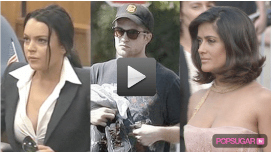 Video of Lindsay in Court, Rob's Workout, and Salma, Diane, and Penelope Close Cannes in Style
