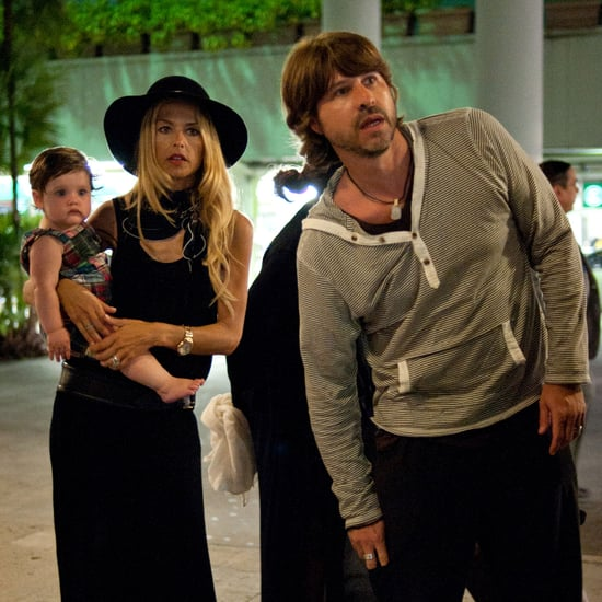 Rachel Zoe and Son Skyler Pictures at Miami Airport