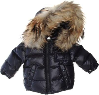 Moncler Fur Hood Puffer Jacket