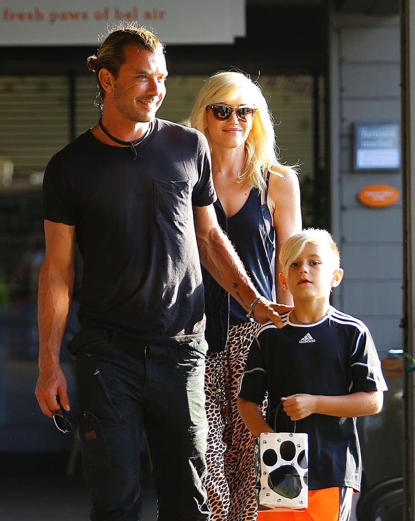 Gwen Stefani and Gavin Rossdale were out and about in LA with Kingston.