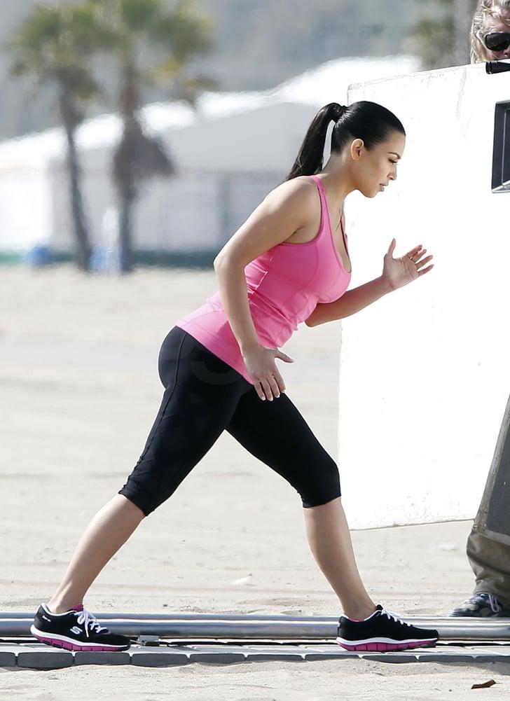 Kim Kardashian Stays in Shape and Plots Her Next Big Move