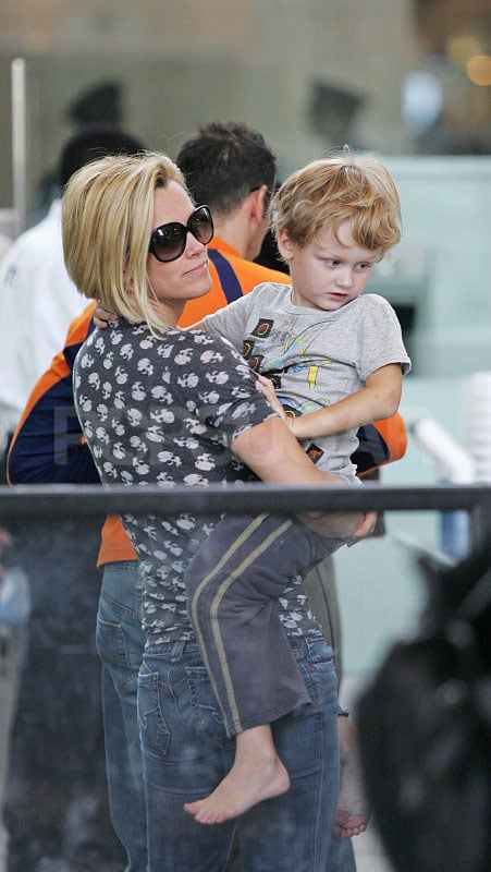 Jenny And Her Little Man Evan