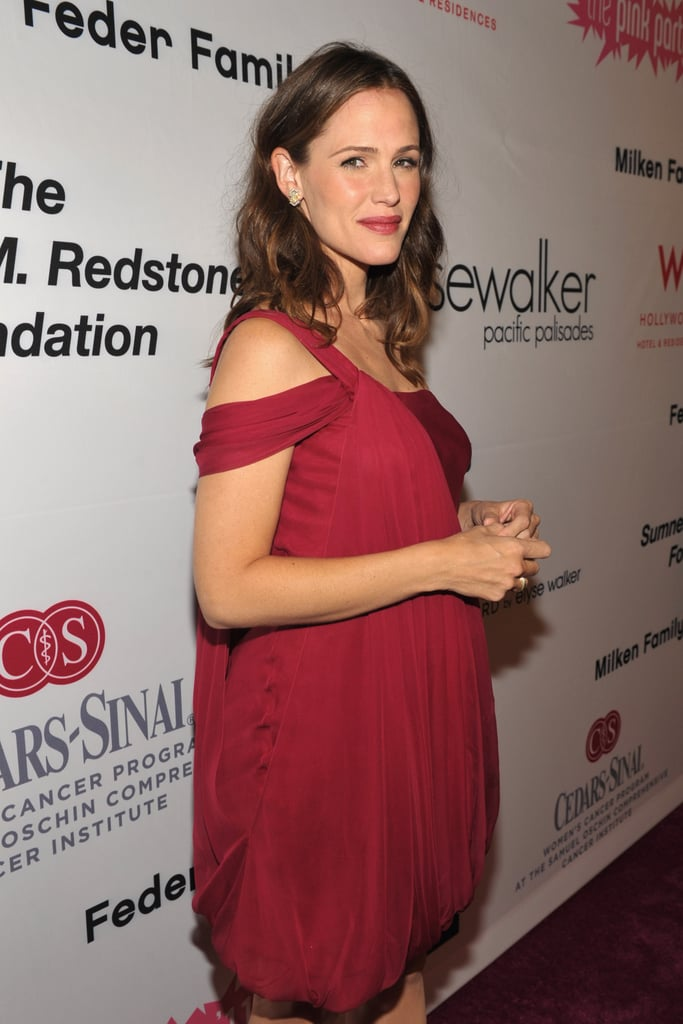 Jennifer Garner dressed up for the night out on the town.