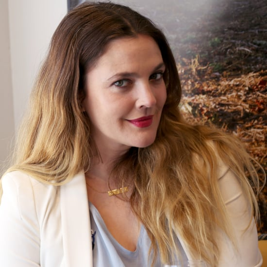 Drew Barrymore's Makeup April 2016