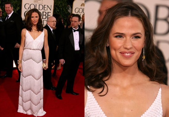 The Golden Globes Red Carpet: Jennifer Garner
