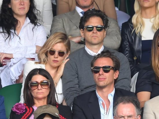 Playing Photo Assumption with Sienna Miller and director Bennett Miller at Wimbledon