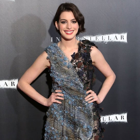 Anne Hathaway Dress at Interstellar Premiere NYC