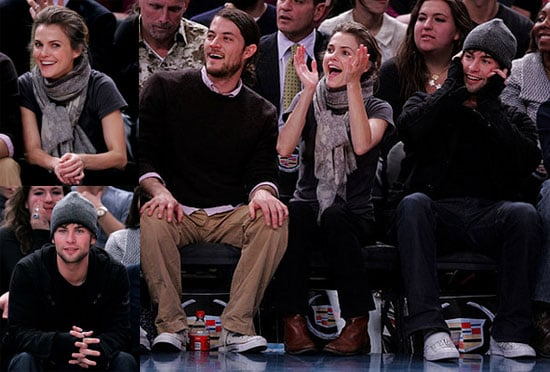 Keri and Chace Side-by-Side Courtside