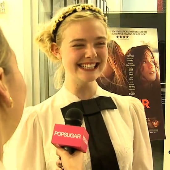 Elle Fanning at Ginger and Rosa Premiere (Video)