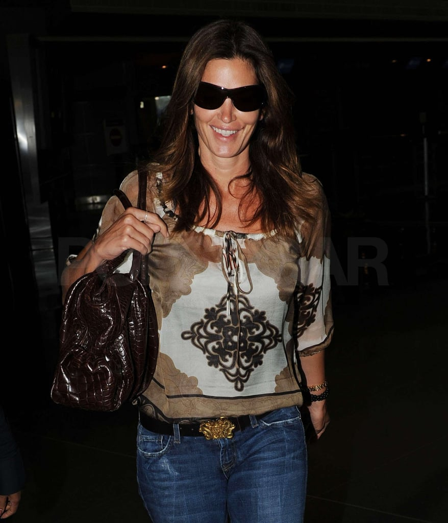 Photos of Cindy Crawford at JFK