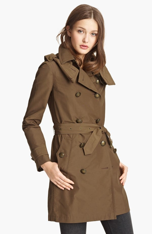 We thought our eyes were deceiving us when we spotted this Burberry trench ($729, originally $1,095) marked down!