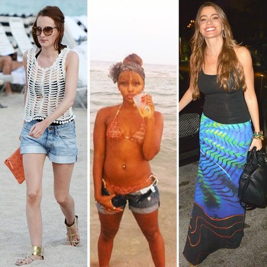 Celebrities in Miami Beach