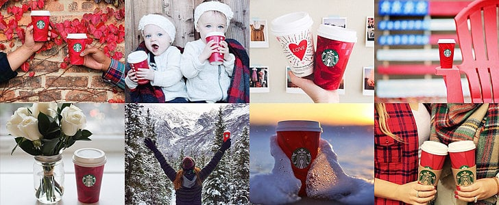 POPSUGAR Shout Out: The Starbucks Red Cups Are Finally Here
