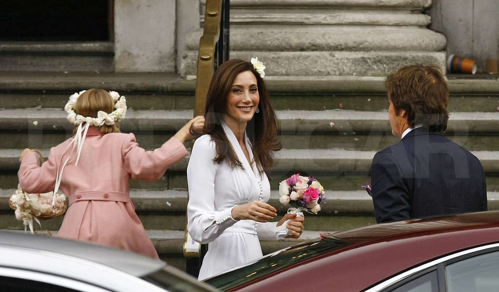 Paul McCartney's daughter Beatrice was the flower girl.