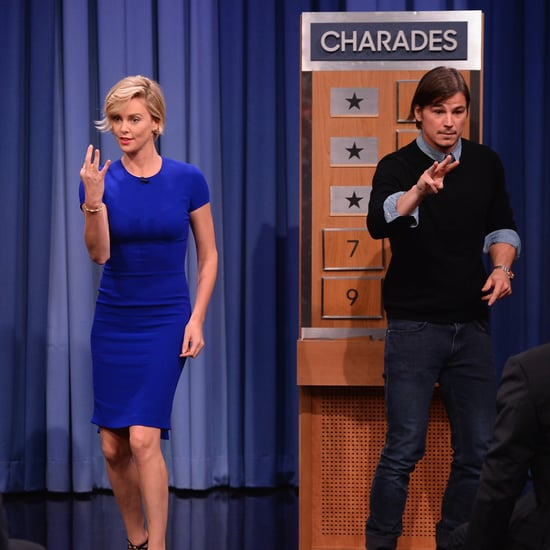 Josh Hartnett and Charlize Theron Charades on Tonight Show