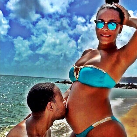 Ludacris and Eudoxie Announce Pregnancy With Baby Bump Photo