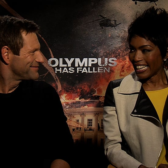 Aaron Eckhart Interview For Olympus Has Fallen | Video