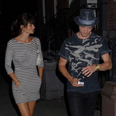 Helena Christensen and Boyfriend Paul Banks Out in NYC