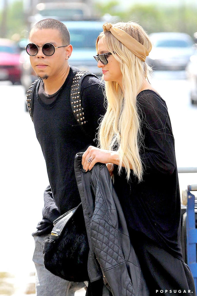 Ashlee Simpson Is Engaged to Evan Ross | POPSUGAR Celebrity