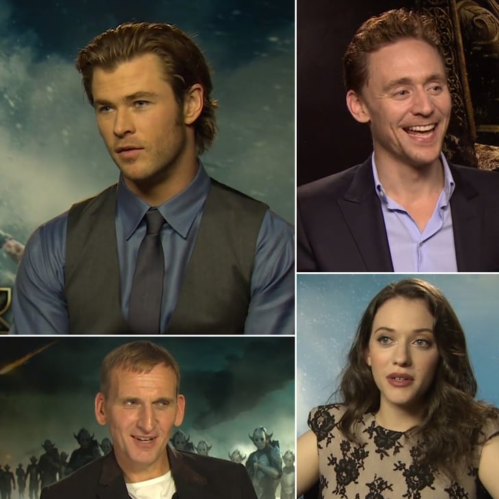 The Thor Cast Gets Silly With Our Word Association Game