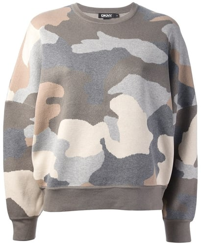 Dkny camouflage sweater