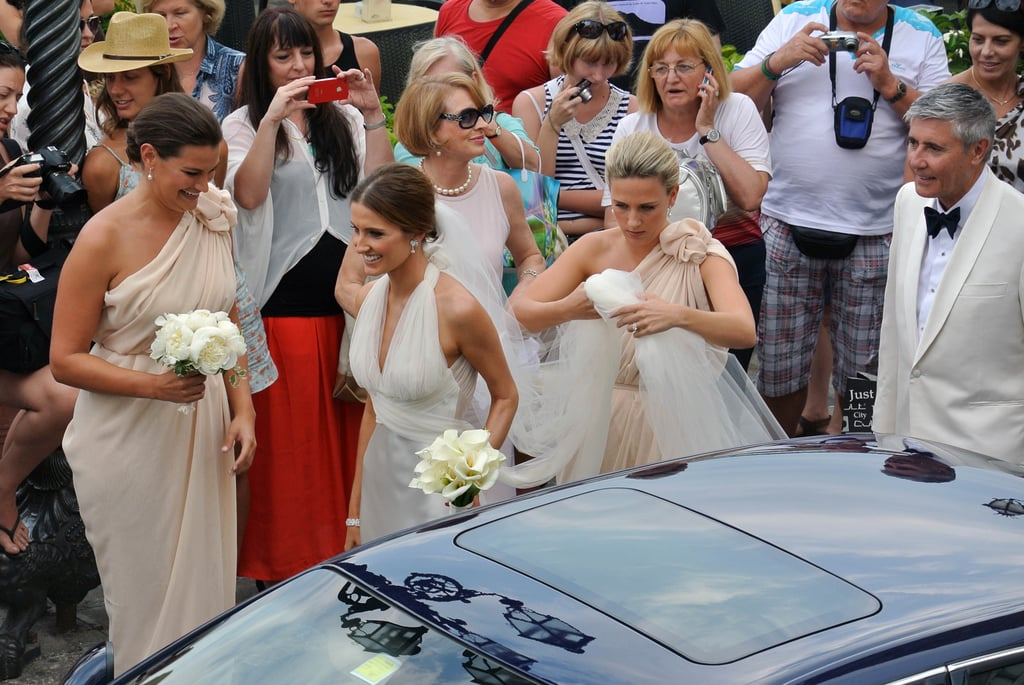The Bride and Her Bridesmaids With Gai and Robbie Waterhouse