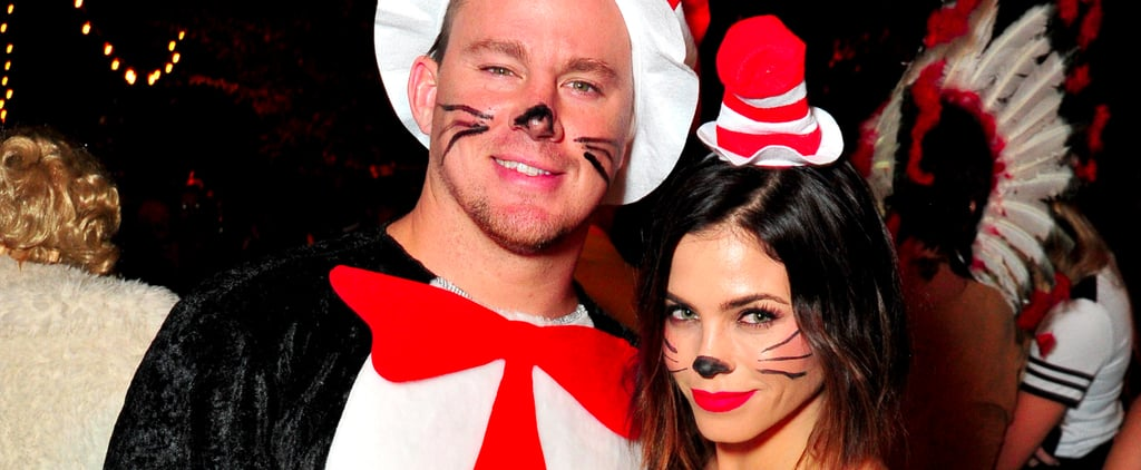 Channing Tatum and Jenna Dewan Tatum Put an Unexpected Spin on the Halloween Couples Costume